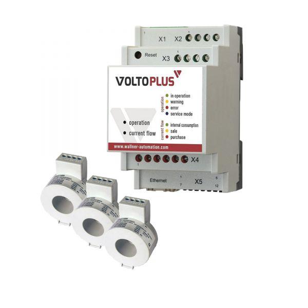 VoltoPlus mit Stromwandler